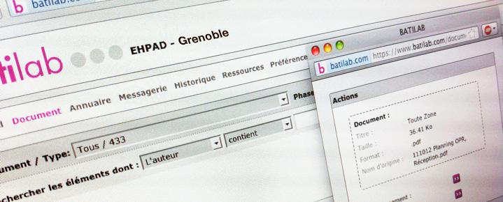 Centraliser et partager vos fichiers volumineux de vos projets de construction
